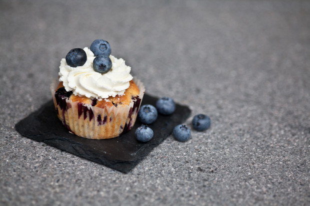Blaubeercupcake Rezept