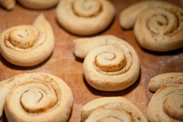 Zimtschnecken - frisch gebacken