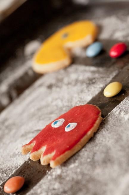 Pacman Cookie Ghost